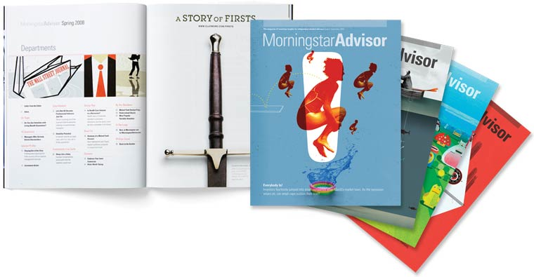 Morningstar Advisor Magazine Print Ad Unit